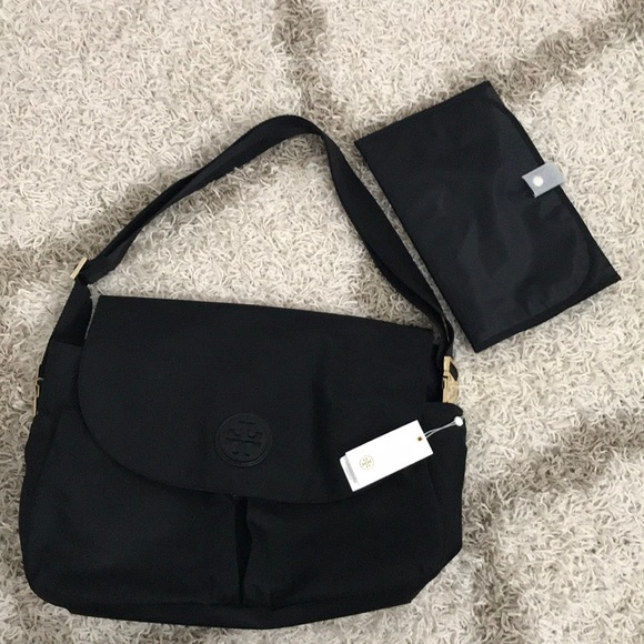 d52a3d8cb42e NWT Tory Burch Nylon Messenger Baby Bag